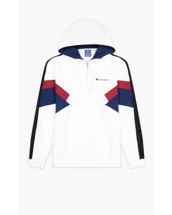 CHAMPION U HALFZIP HOODED